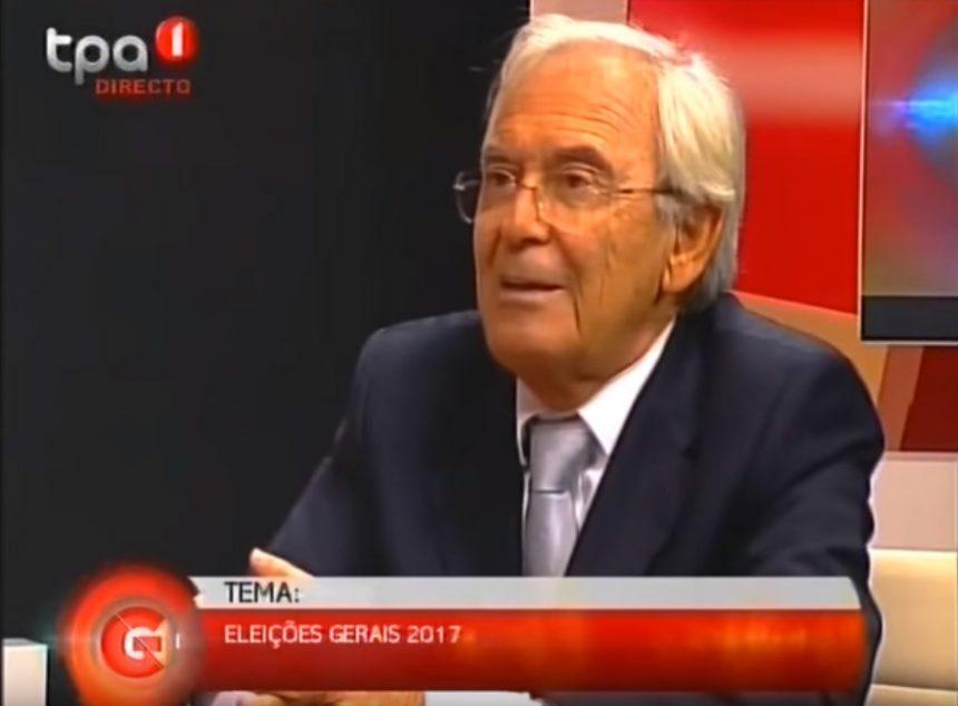 Onofre dos Santos no programa Grande Entrevista da TPA